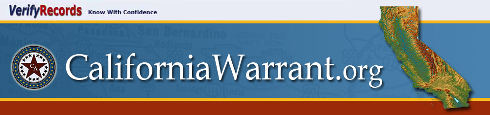 California Arrest Warrants